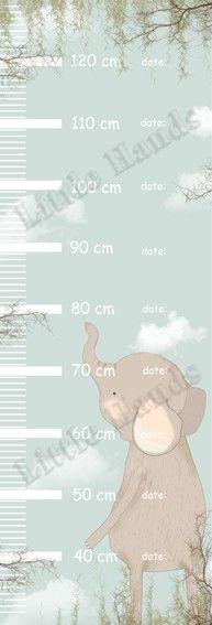 Measure Wall Ruler - Elephant
