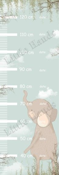 Measure Wall Ruler - Elephant