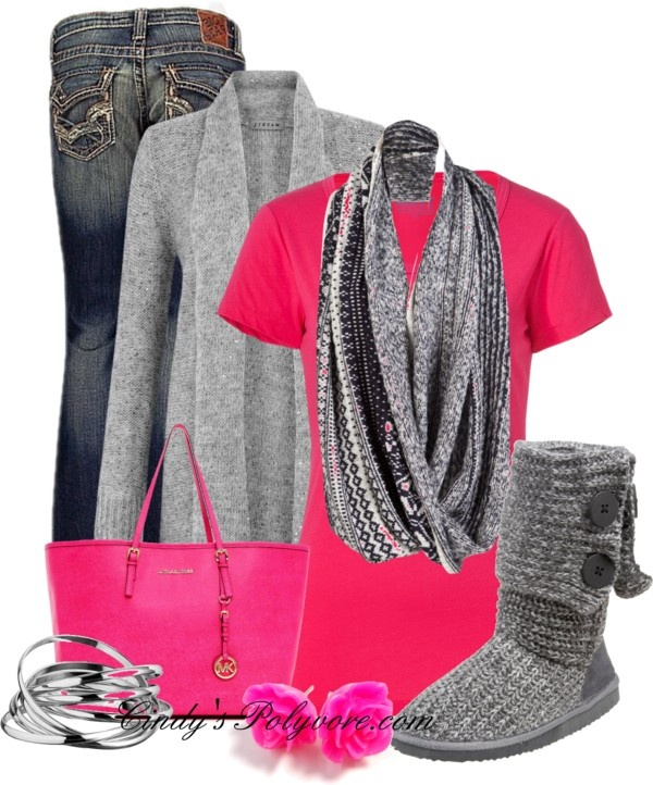 """""""Think Pink!!!"""" by cindycook10 ❤ liked on Polyvore"""
