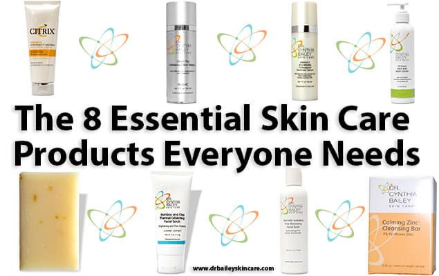 The 8 Essential Skin Care Products Everyone Needs Skin Care Essentials Moisturizer For Oily Skin Spring Skin Care