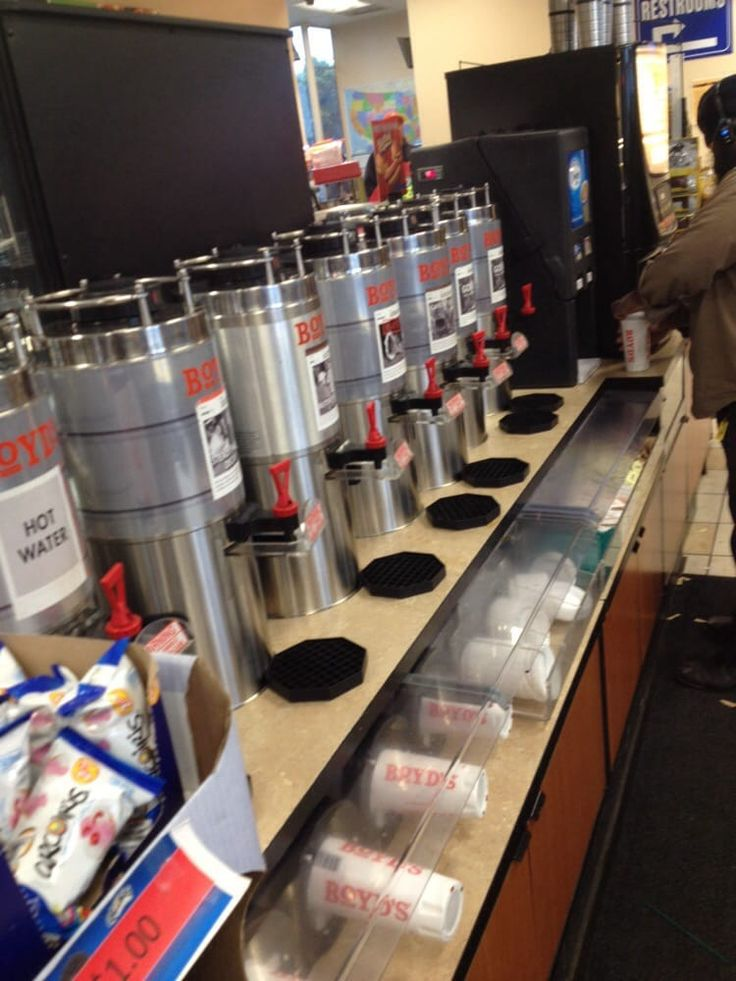 Boyd's...bringing great coffee to the Soulful Giving Blanket Concert.