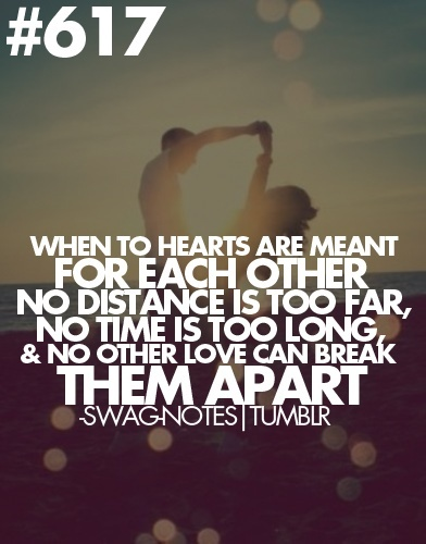 Long distance: Meant To Be, Cute Quotes, Two Hearts, Army Love, Long Distance Relationships, Military Love, No Time, Swag Notes, Distance Love