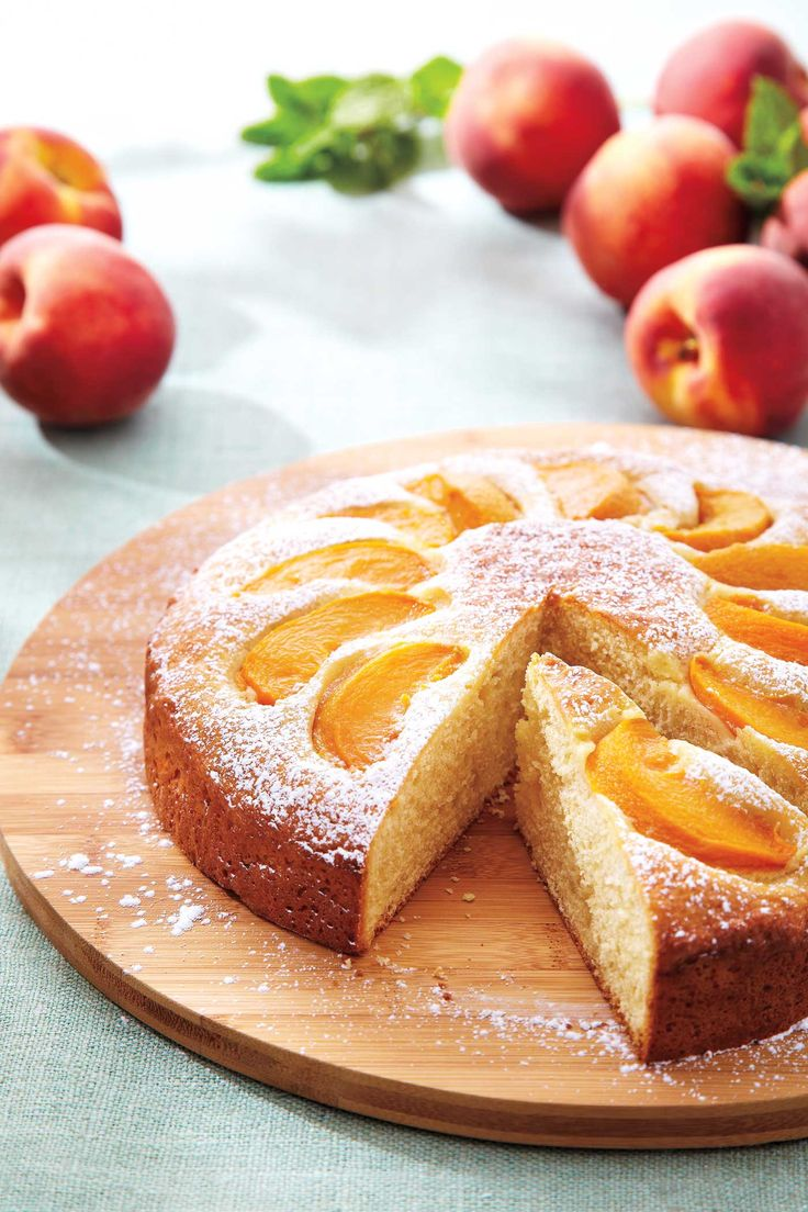 Okanagan Peach Cake