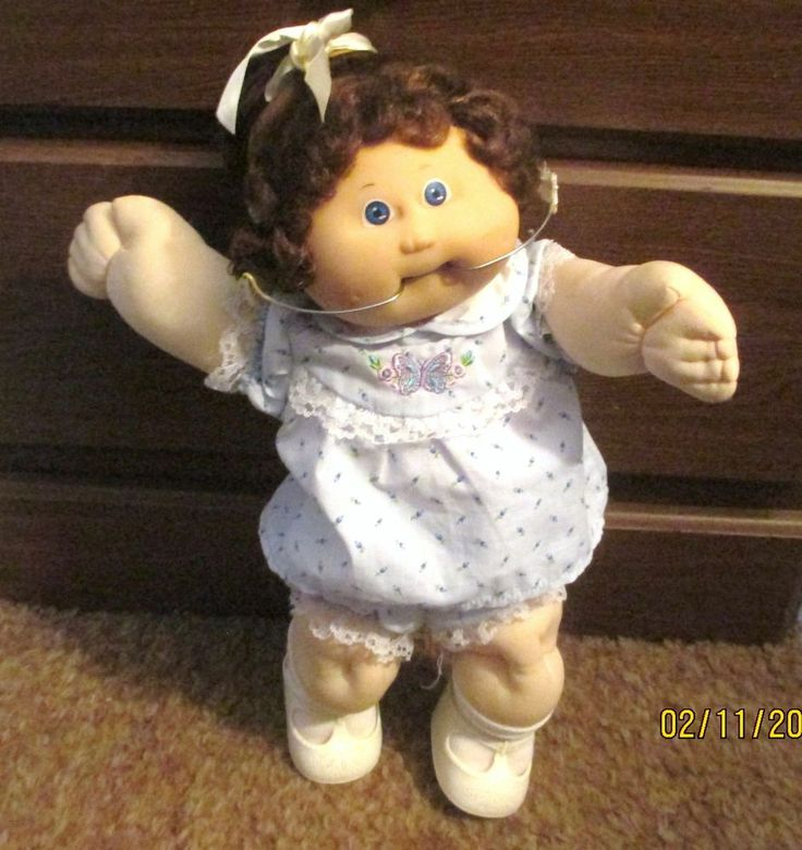 Cabbage patch doll with braces
