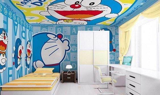 Unduh 200 Gambar Gambar Doraemon Untuk Kamar Hd Terbaru Doraemon Lukisan Dinding Dinding New small doraemon room kamar
