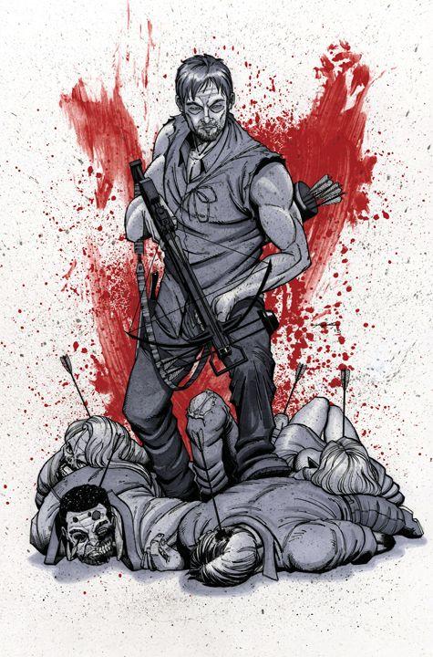 Daryl Dixon - The Walking Dead - Ian Navarro