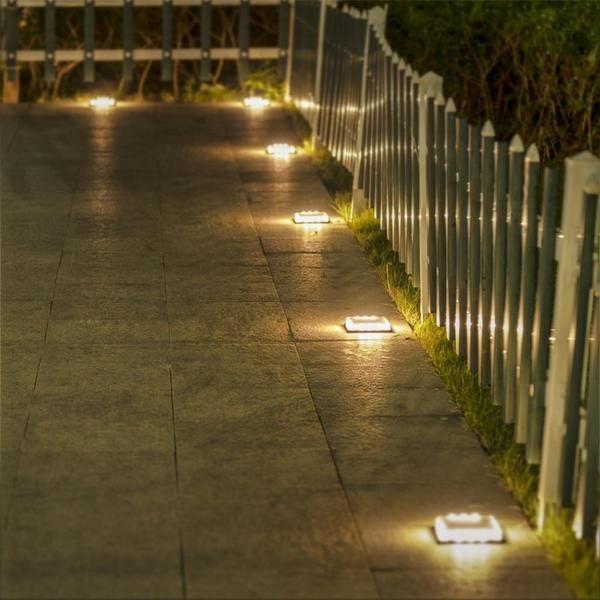 Calandra Led Solar Ground Embedded Light In 2020 Outdoor Patio Lights Solar Lawn Lights Led Patio Lights