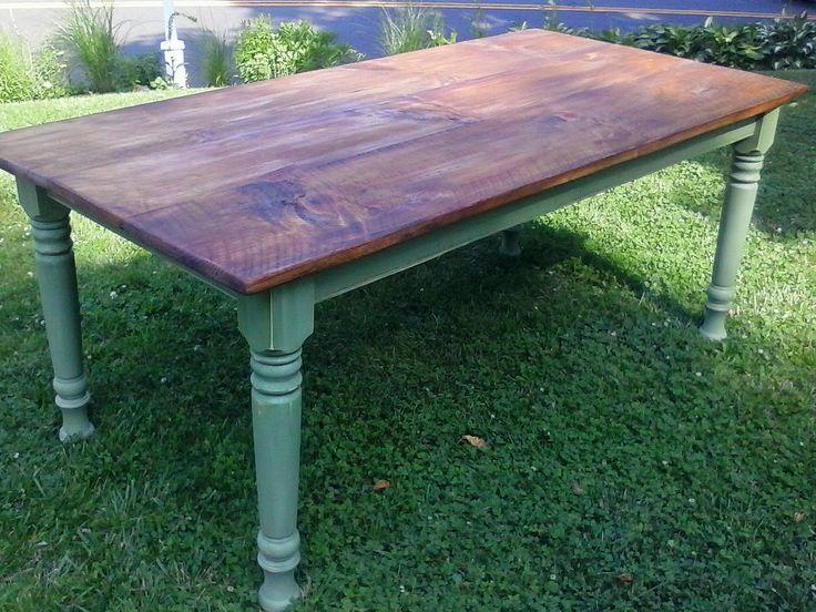 Farmhouse Plank Table