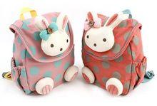 Crianças meninos meninas animais 3D bonito saco de escola coelho desenhos animados do bebê crianças do jardim de infância mochila anti - lost(China (Mainland))
