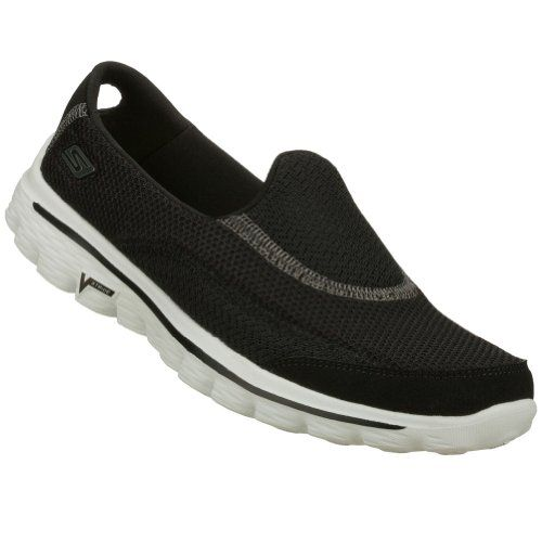 #Skechers Ladies GOwalk Shoes - SKECHERS GOwalk elevates the natural walking experience, allowing you to interact with and respond to practically any surface, wh...