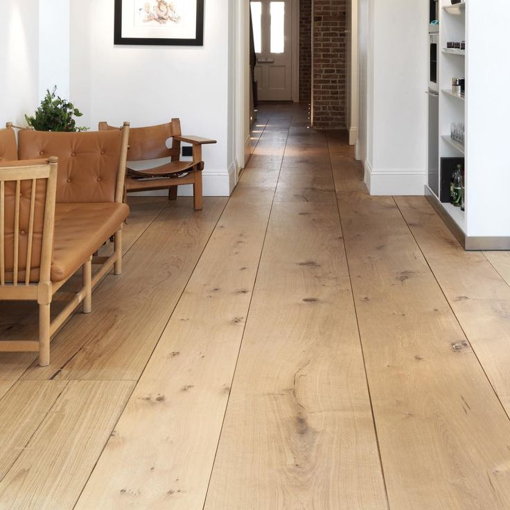 Wide plank flooring - HeartOak by Dinesen
