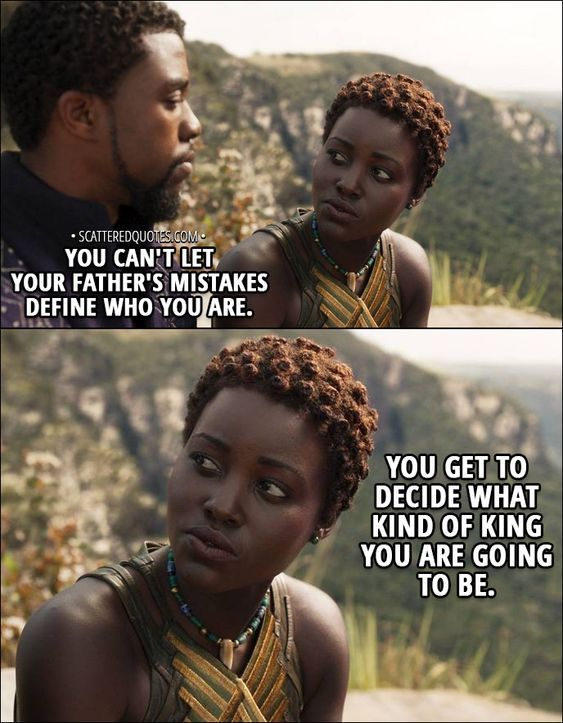 b96a83a8d You get to decide what kind of king you are going to be-Black panther  quotes #Blackpanther #marvel #quotes