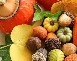 An autumn harvest often brings inspiration for interior design.