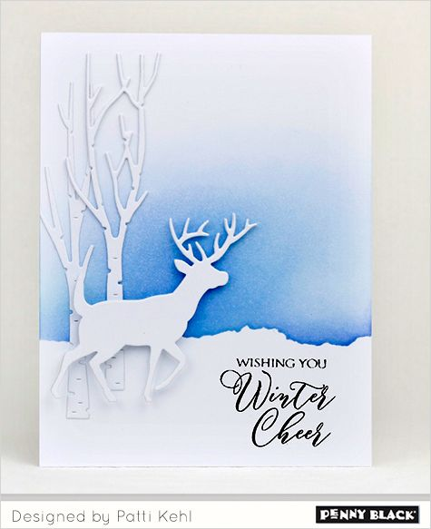 17 best images about cards christmas reindeer deer on for Elegant christmas card ideas