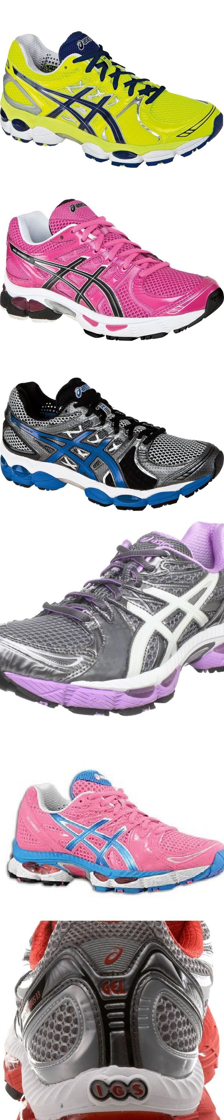 Asics Gel-Nimbus running shoes- best cushioning, stability and comfort. No more injuries and stress accumulated in your legs.