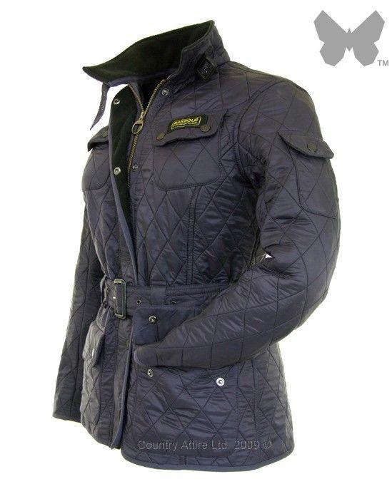 Barbour Ladies' International Polarquilt Jacket - Purple LQU0062PU71 (L804) - Jackets / Coats - Ladies | Country Attire
