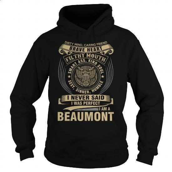 BEAUMONT - #pullover hoodies #design shirt. ORDER NOW => https://www.sunfrog.com/Names/BEAUMONT-118784791-Black-Hoodie.html?60505