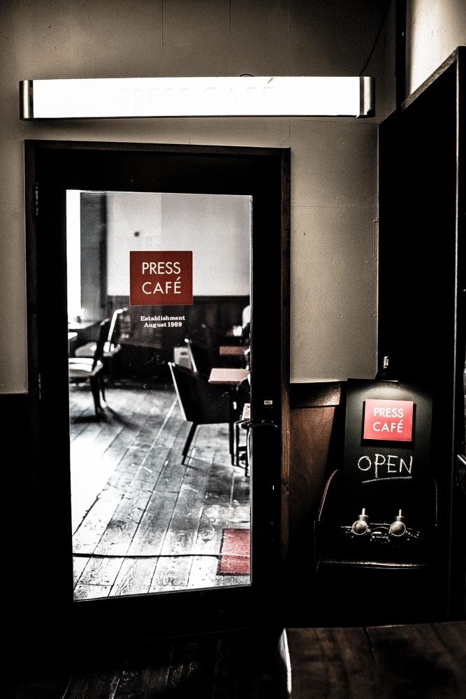 Otaru- Press Café