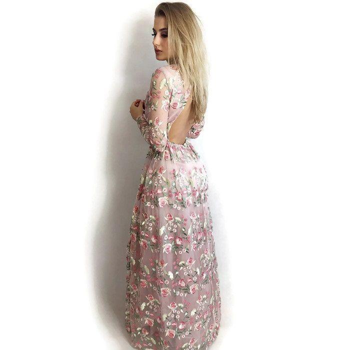 Sukienka Maxi Cina Sukienka Koktajlowa Sukienka Na Wesele Sukienka W Kwiaty Dresses Formal Dresses Fashion