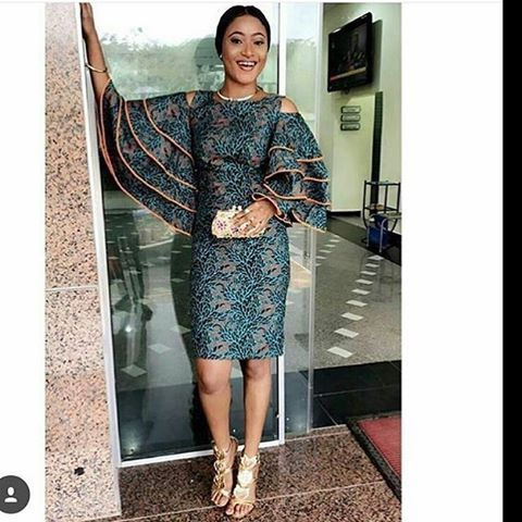 """44 Likes, 1 Comments - Happy Shopping @FABADORE  (@fabadore_fabrics) on Instagram: """"Let ur Sleeve do the talking this season.....Wide Range of Ankaras to compliment the sleeve trend"""""""