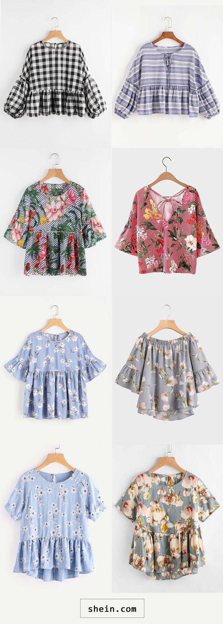 Babydoll blouses