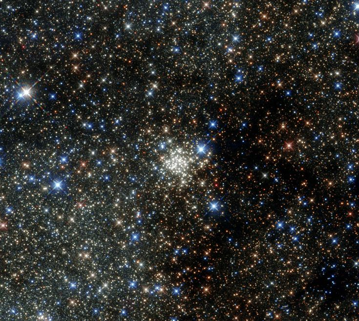 Hubble Peers into the Most Crowded Place in the Milky Way   NASA