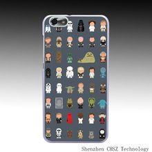 1085O Star Wars All personagens engraçados rígido caso claro tampa transparente para Huawei P6 P7 P8 Lite Honor 6 7 G7 4C 4X(China (Mainland))