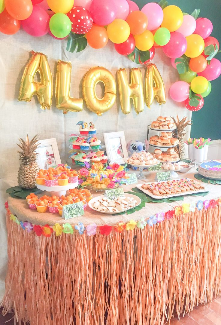 Lilo and stitch theme birthday party how to throw a lilo