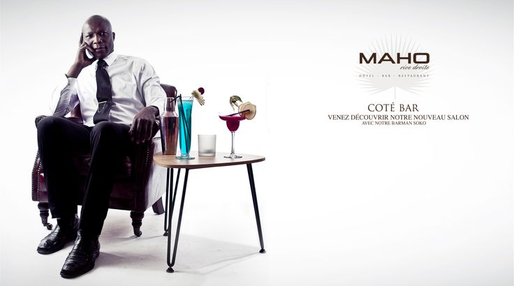 SOKO  Barmen restaurant MAHO Luxembourg  Photographie & montage par Benjamin Benaicha