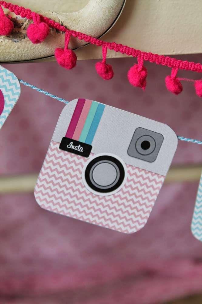 Instagram/ Social Media Birthday Party Ideas | Photo 17 of 20 | Catch My Party