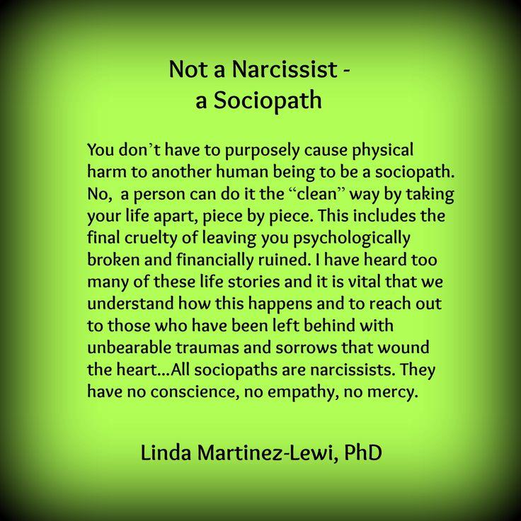 Leaving a sociopath
