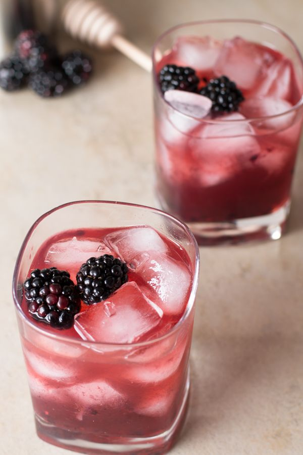 This fruity Blackberry Sidecar will become one of your new favorites to shake off those winter blues!