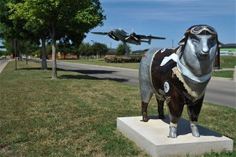 Sheep Statues of San Angelo
