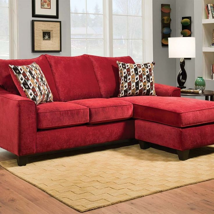 Living Room Ideas With Red Sectional: 25+ Best Ideas About Red Sofa Decor On Pinterest