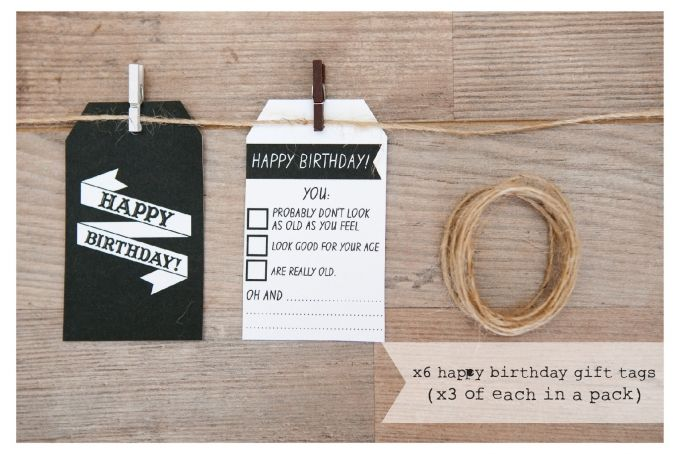 Gift Tags by Paper Planes