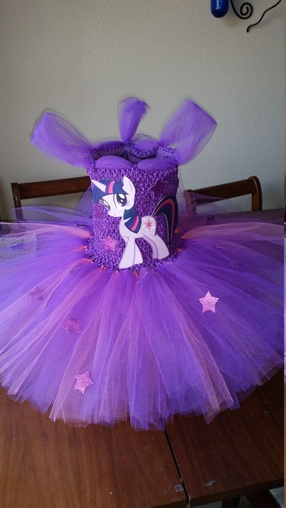 Twilight Sparkle o cualquier Color mi Little por LaraGirlsDesigns