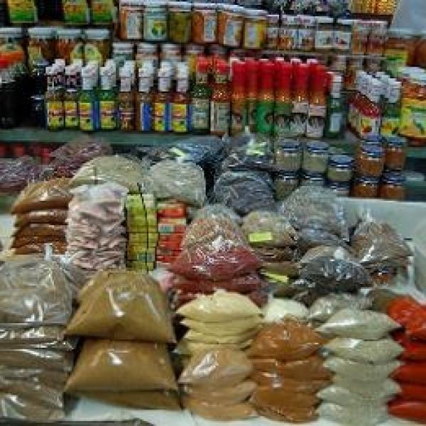 food in Merida, Mexico. I looove hot sauce!
