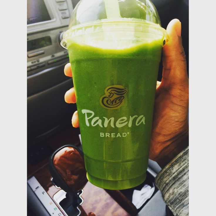 Panera Bread Green Passion Power Smoothie Health