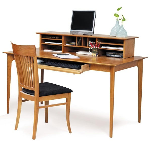 Great storage space with a simple  classic shaker design  Shown in natural  cherry wood  Made in Vermont. 79 best Home Office Wooden Furniture images on Pinterest   Wooden
