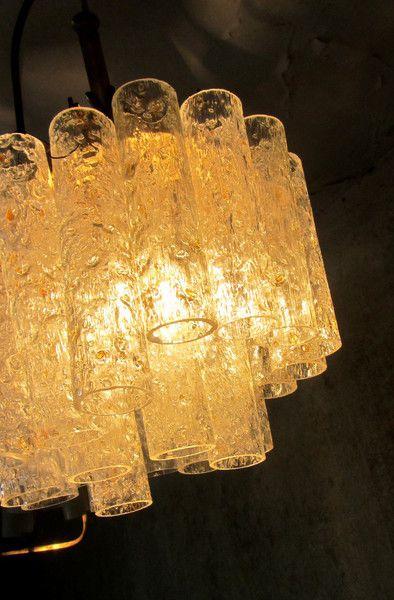 Glas Deckenleuchte 70er Rhren Panton Aera Von Kukes Feinster Trdel Auf DaWanda