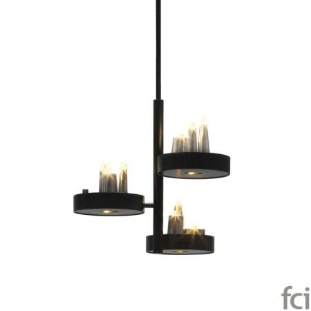 Table D'amis TABC70BLM #ChandelierLamp by #BrandVanEgmond. Showroom open 7 days a week.  #fcilondon #furniture_showroom_london #furniture_stores_london #Modern_ChandelierLamp #BrandVanEgmond_furniture #BrandVanEgmond_lighting