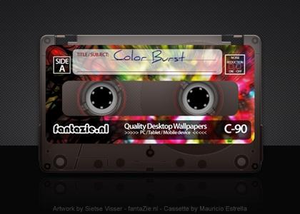 Cassette Color Burst