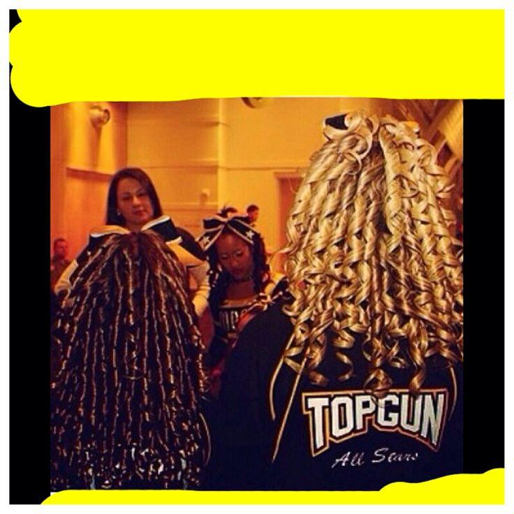 Cheer hair! Top gun