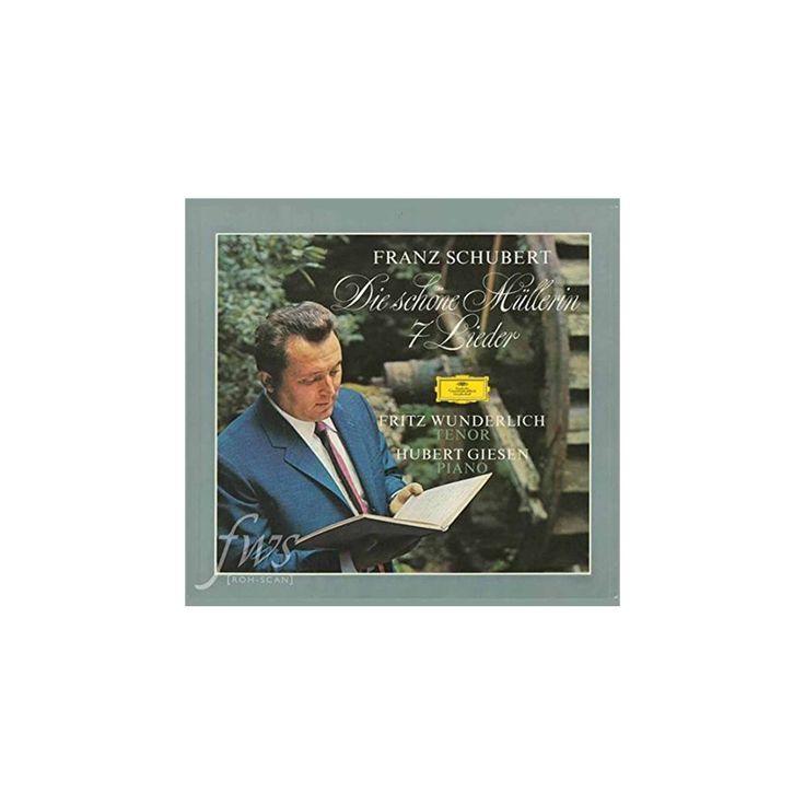 Fritz wunderlich - Schubert:Die schone mullerin/7 lieder (Vinyl)