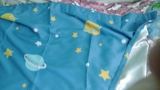 Online Alışveriş 1 Adet Mavi Gezegen Karikatür Erkek Bebek Çocuk Odası Cortina Para Quarto Için Karartma Perdeleri Oturma Odası Pencere Perde Ev dekor| Aliexpress | Aliexpress Mobil