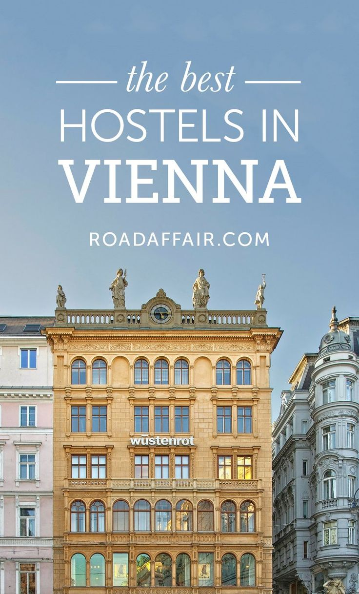 Traveling on a budget? Here is the ultimate list of the best hostels in Vienna, Austria!