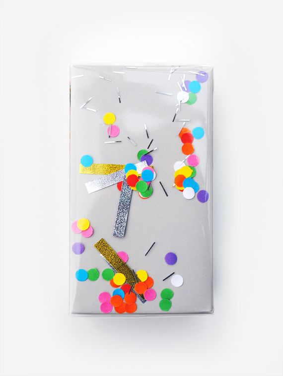 'shake-it' confetti wrap