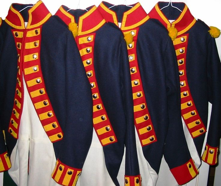 Uniforms and Equipment for the British Royal Artillery, 1795.