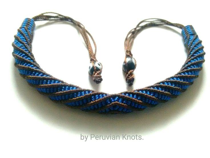 Macrame Tubular Peruano by Peruvian Knots.