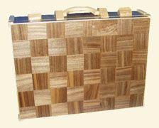Intarsia - konsthantverk trä